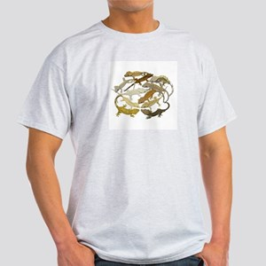 Ash Grey Crested Gecko T-Shirt