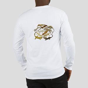 Long Sleeve Crested Gecko T-Shirt