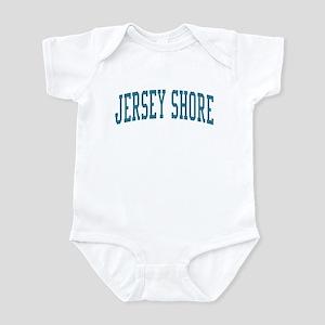 Jersey Shore New Jersey NJ Blue Infant Bodysuit