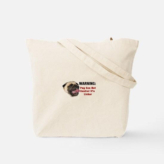 Licker Pugs Tote Bag
