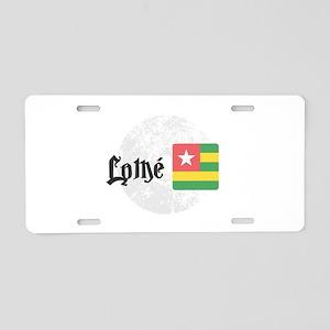 Lomé Aluminum License Plate