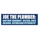Who is Joe the Plumber? Bumper Sticker