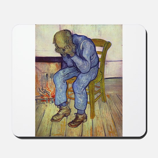 At Eternity's Gate Mousepad