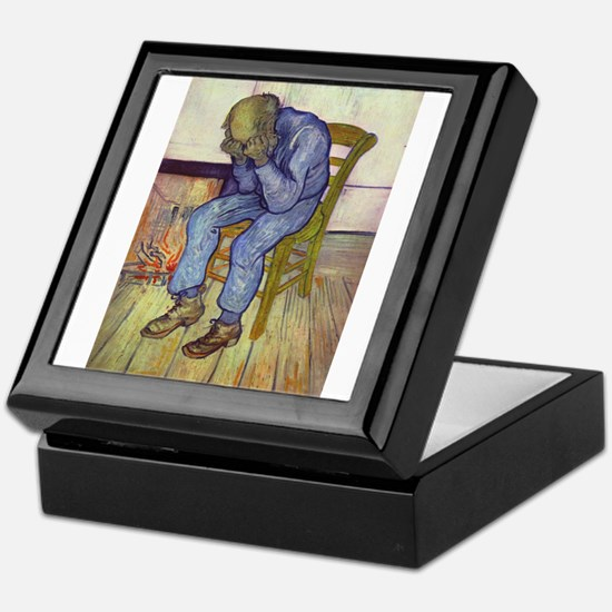 At Eternity's Gate Keepsake Box