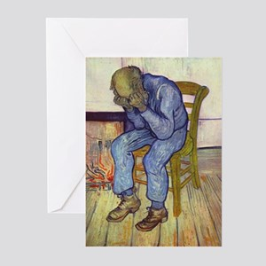 At Eternity's Gate Greeting Cards (Pk of 20)