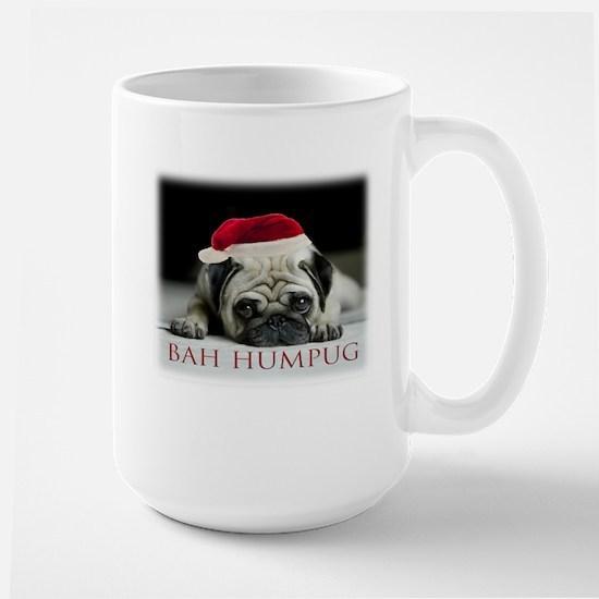 Christmas Puggie Large Mug