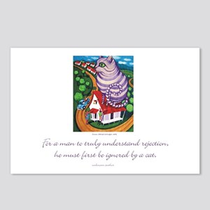 Ignored by a Cat Postcards (Package of 8)