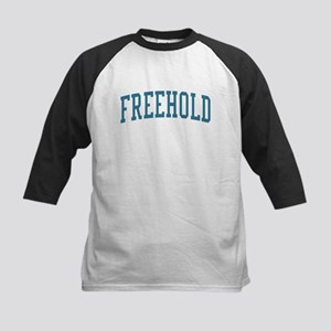 Freehold New Jersey NJ Blue Kids Baseball Jersey