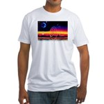 new world dollar ? Fitted T-Shirt