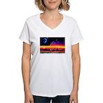 new world dollar ? Women's V-Neck T-Shirt