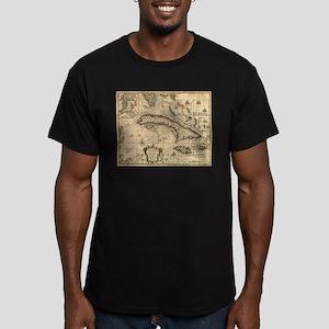 Vintage Map of Cuba (1762) T-Shirt