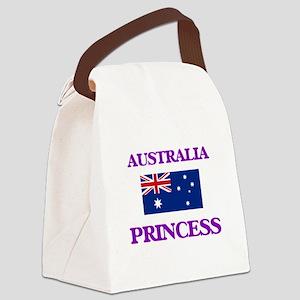 Australian Princess Canvas Lunch Bag