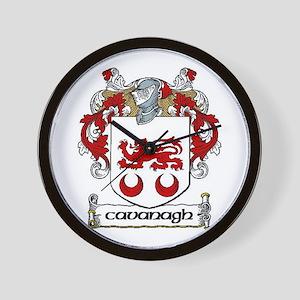 Cavanagh Coat of Arms Wall Clock