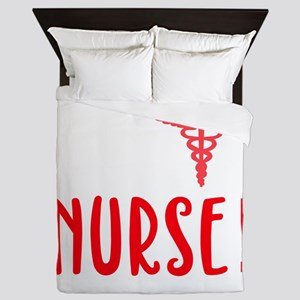 Forget Princess I Want To Be A Nurse N Queen Duvet