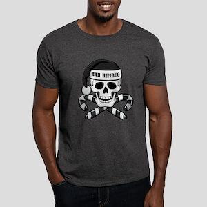 Bah Humbug Skull Dark T-Shirt