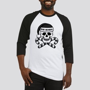 Bah Humbug Skull Baseball Jersey