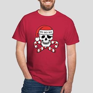 Christmas Pirate Dark T-Shirt