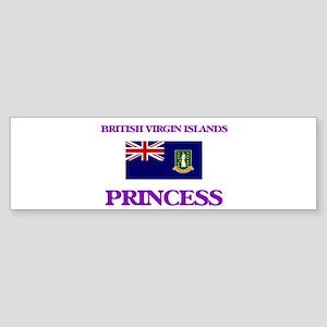 British Virgin Islander Princess Bumper Sticker