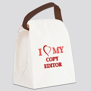 I love my Copy Editor Canvas Lunch Bag