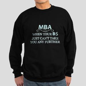 MBA - Masters Degree Graduation Sweatshirt