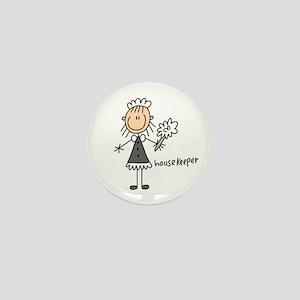 Housekeeper Mini Button