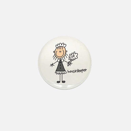 Housekeeper Mini Button