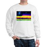 earliest version of the new w Sweatshirt