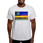 new world flag w/ flower.o.li Light T-Shirt