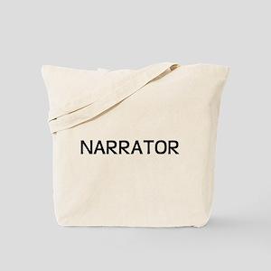 Narrator Tote Bag