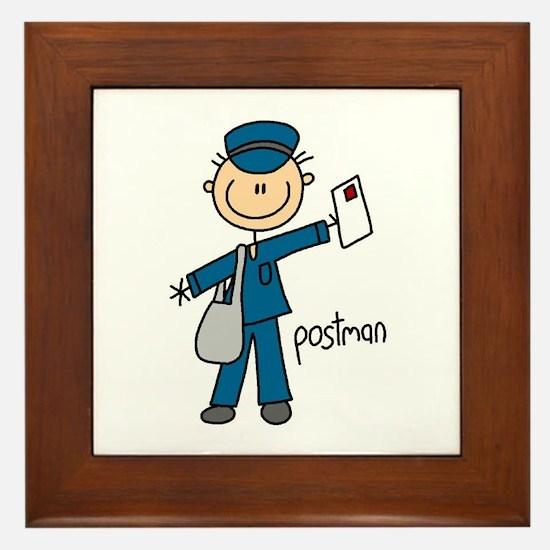 Postman Framed Tile