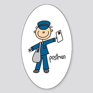 Postman Oval Sticker