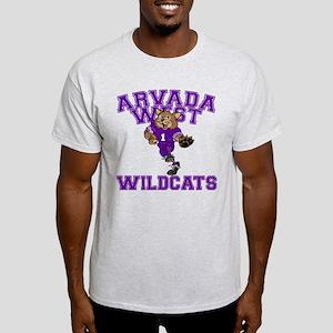 Arvada West Wildcats Light T-Shirt