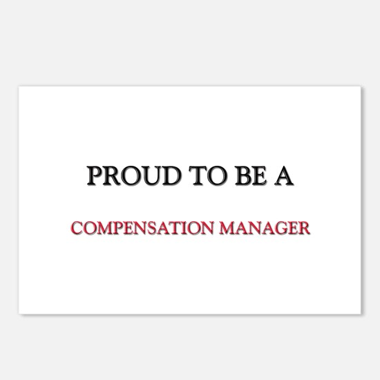 Proud to be a Compensation Manager Postcards (Pack