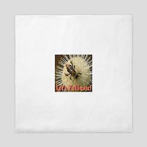 Let's Pollinate Queen Duvet