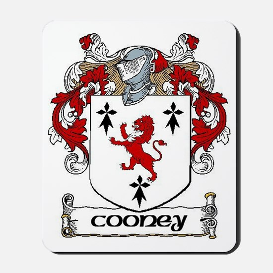 Cooney Coat of Arms Mousepad