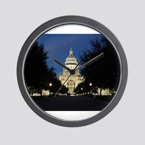 Austin Texas Capitol Wall Clock