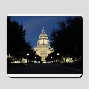 Austin Texas Capitol Mousepad