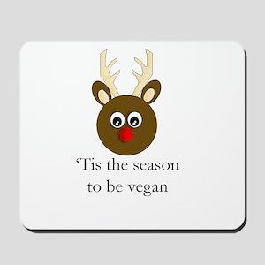 Vegan Holiday Mousepad