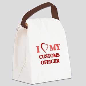 I love my Customs Officer Canvas Lunch Bag