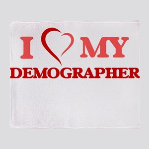 I love my Demographer Throw Blanket