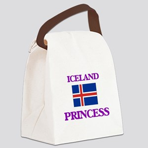 Icelandic Princess Canvas Lunch Bag