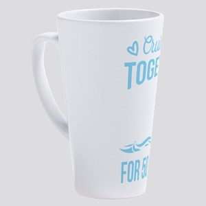 Wedding Anniversary Cruising Toget 17 oz Latte Mug