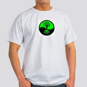 Think Green Yin Yang Light T-Shirt