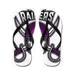 River City Raiders Flip Flops