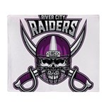 River City Raiders Throw Blanket