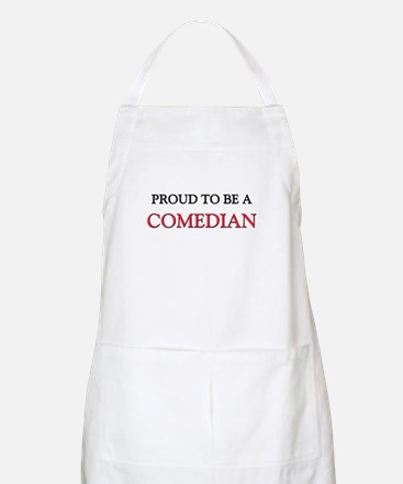 Proud to be a Comedian BBQ Apron