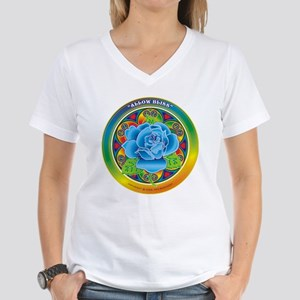 Blue Rose Bliss Women's V-Neck T-Shirt