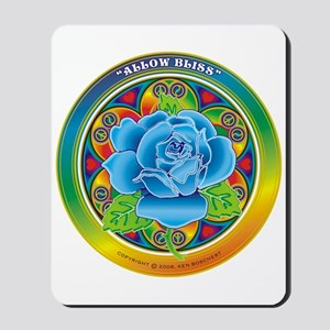 Blue Rose Bliss Mousepad