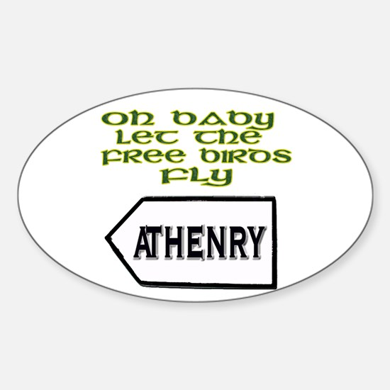 Fields of Athenry Oval Decal