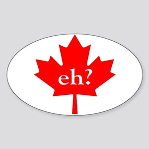 Eh? Oval Sticker